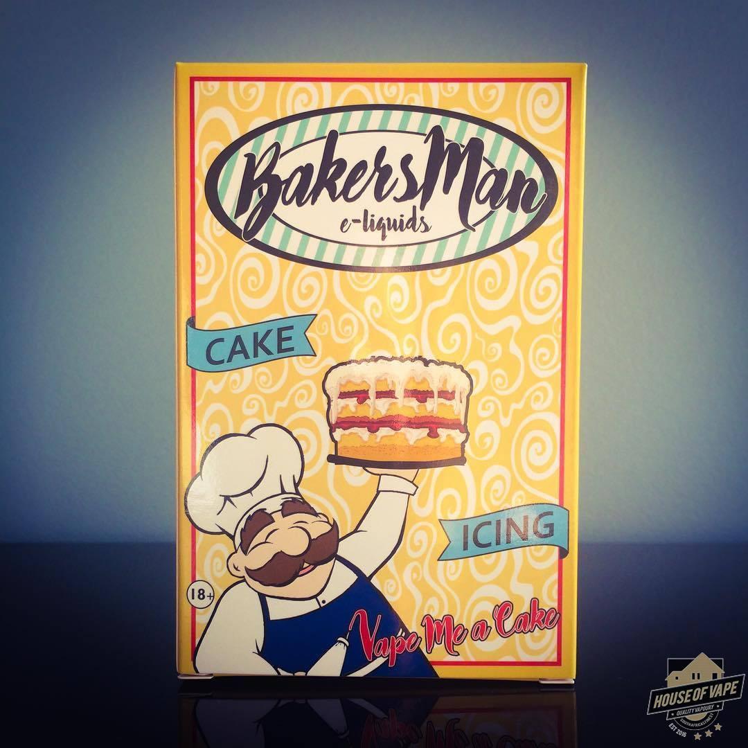 Bakers man 65ml plus free cotton bacon bits