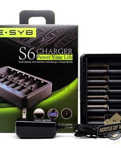 ESYB S6 6-Bay Battery Charger