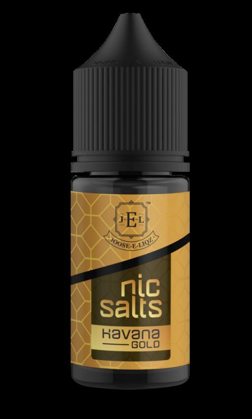 Joose-E-Liqs Havana Gold Salt