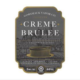 Creme Brulee Gobsmack Vapor co