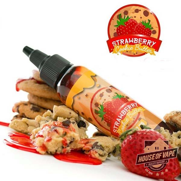 Vape Treats - Strawberry Cookie Butter - 60ml