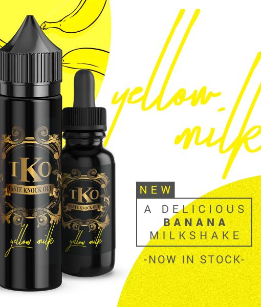 TasteKnockOut TKO Yellow Milk