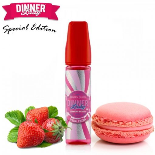 Dinner Lady Strawberry Macaroon