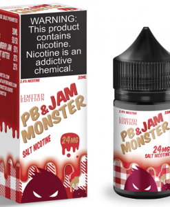 Jam Monster Strawberry PB&J SaltNic