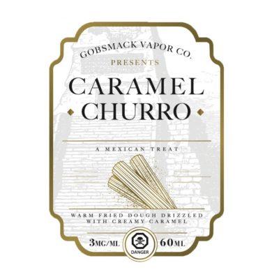 Caramel Churro Gobsmack Vapor co.