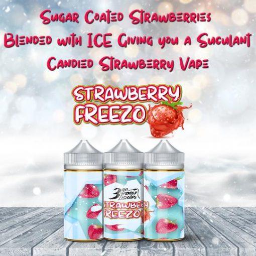 Strawberry Freezo Cosmic Dropz