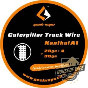geekvape Caterpillar Track wire Kanthal A1
