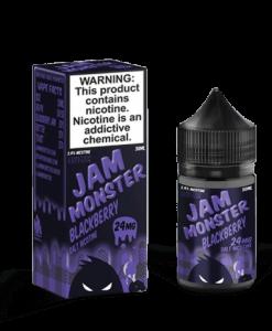 Jam Monster BlackBerry SaltNic