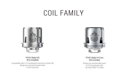 TFV8 X-Baby Coils