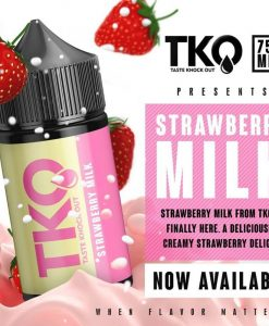 TasteKnockOut TKO Strawberry Milk
